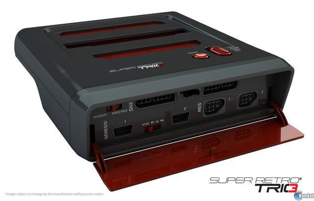 Super Retro Trio, una consola que une NES, Mega Drive y Super Nintendo 201352122013_1