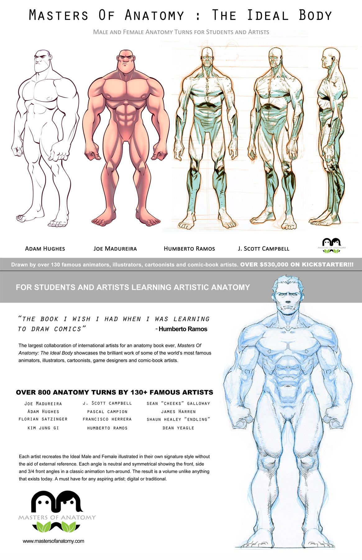 [inspi] Vos dernières lectures, podcasts, vidéo intéressantes ... - Page 2 Bd5b14b4ba060a6e-masters_of_anatomy_cover_front_back