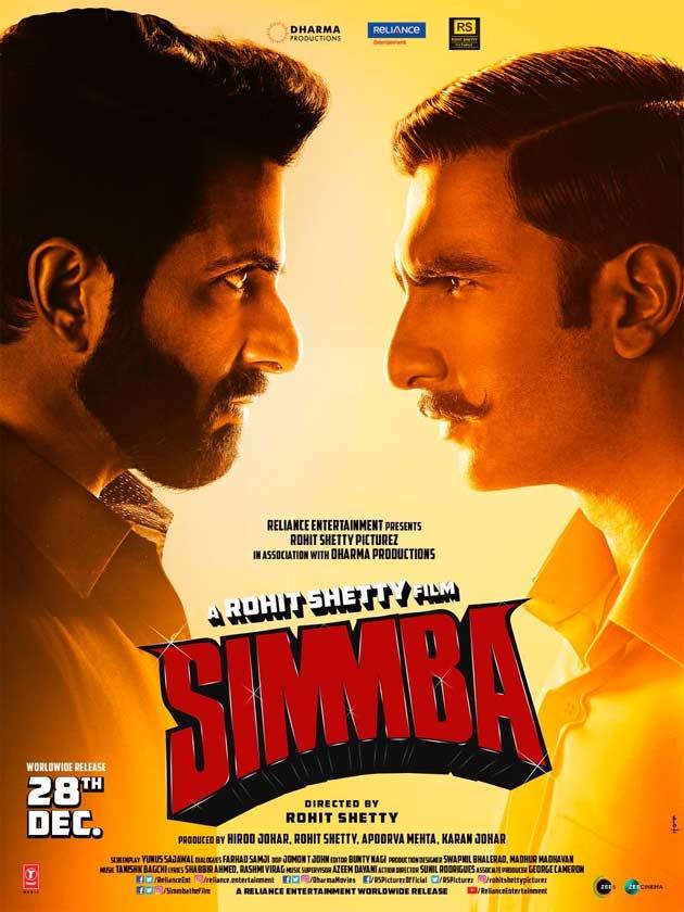 SIMMBA (2018) con RANVEER SINGH + Jukebox + Sub. Español + Online 1545478993-2145