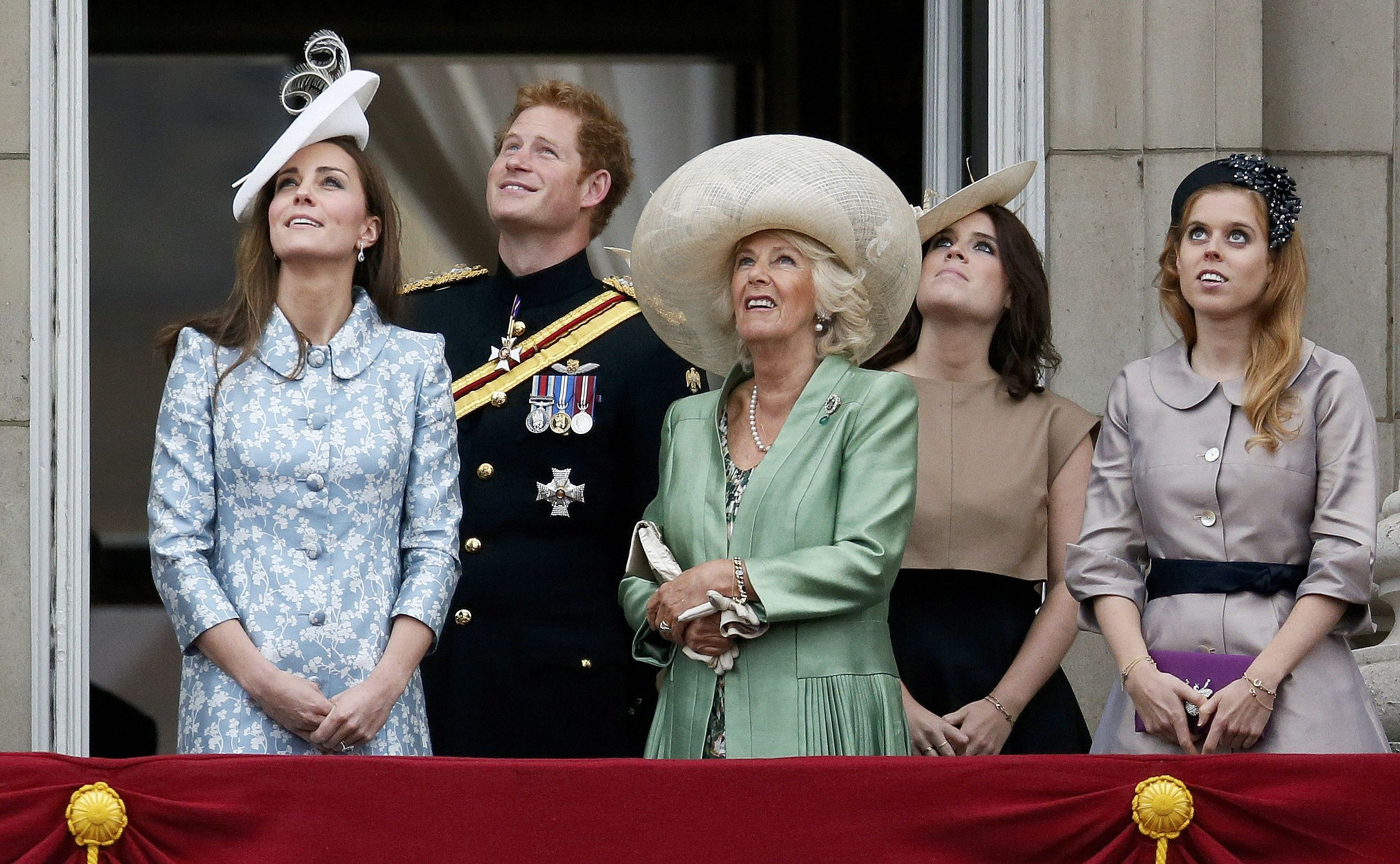 Trooping the Colour 2015. 2015-06-13T113023Z_1695872682_LR1EB6D0VYCU4_RTRMADP_3_BRITAIN-ROYALS