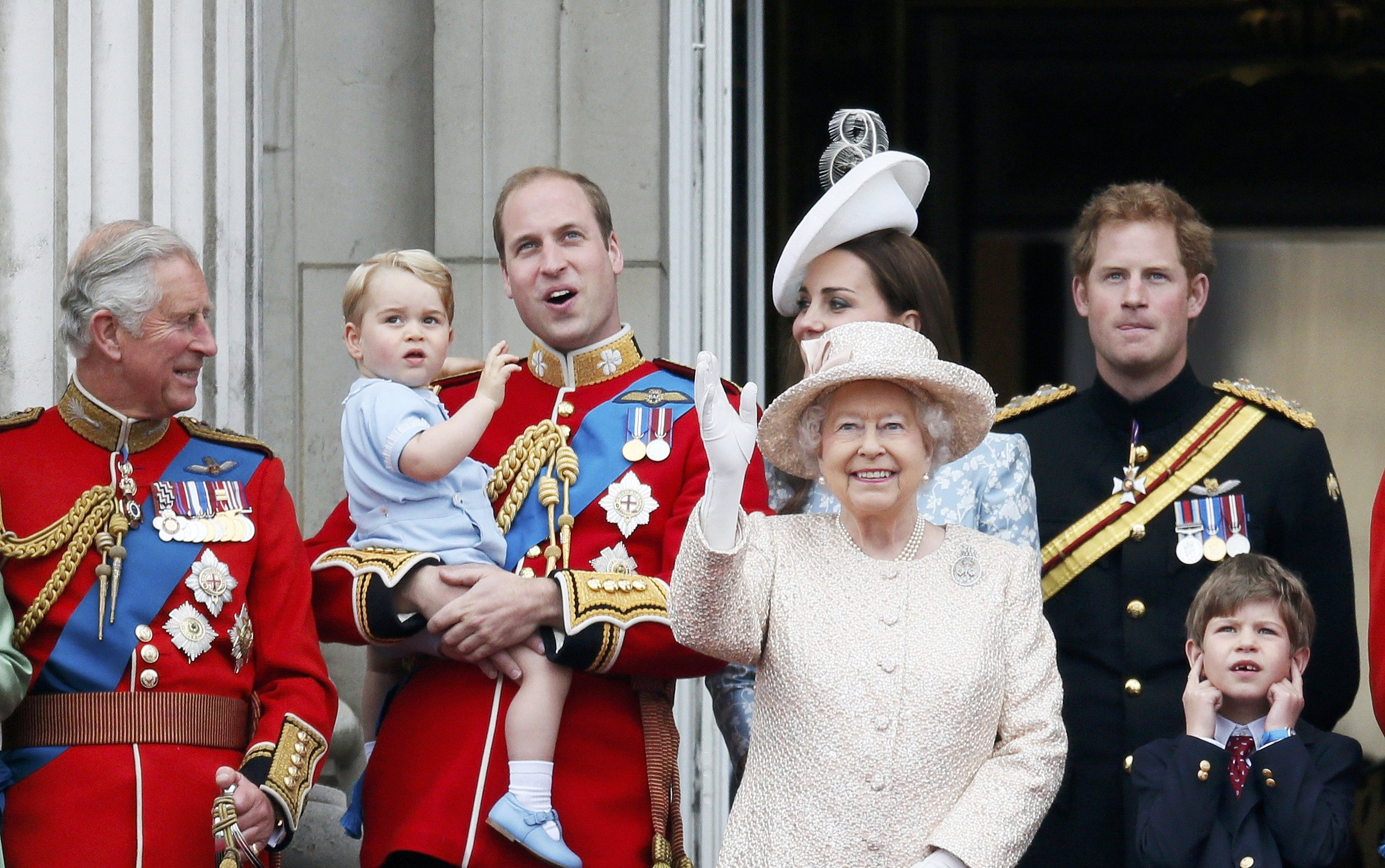 Trooping the Colour 2015. 2015-06-13T121656Z_8679842_LR1EB6D0Y3XVG_RTRMADP_3_BRITAIN-ROYALS