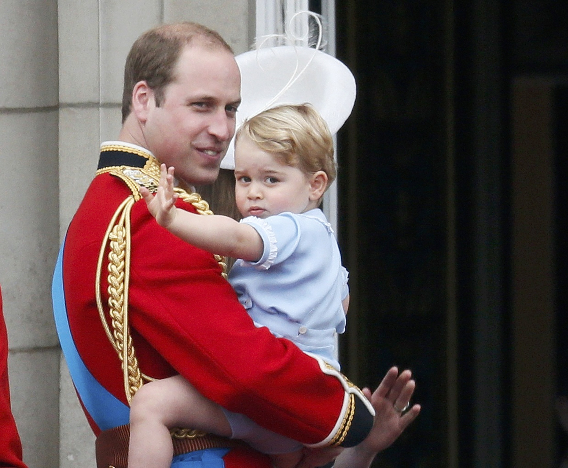 Trooping the Colour 2015. 2015-06-13T122252Z_178245944_LR1EB6D0YDUVI_RTRMADP_3_BRITAIN-ROYALS