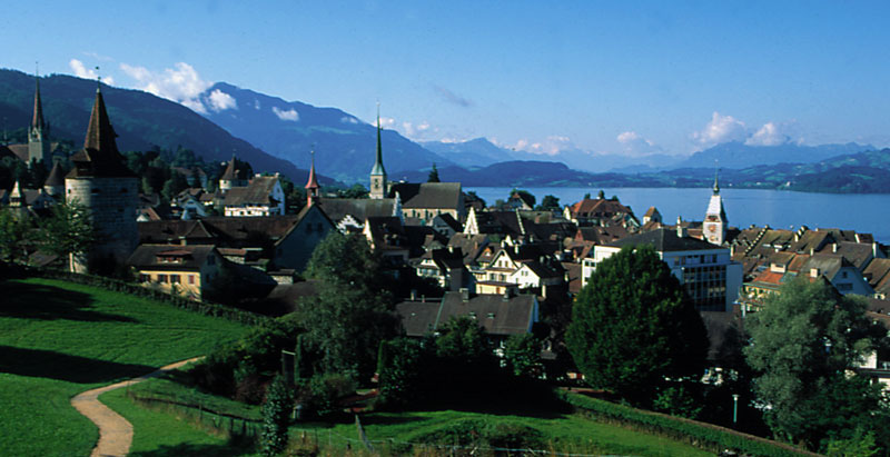 Suiza - 5 Francos 1867 Festival de Tiro de Zug Zug