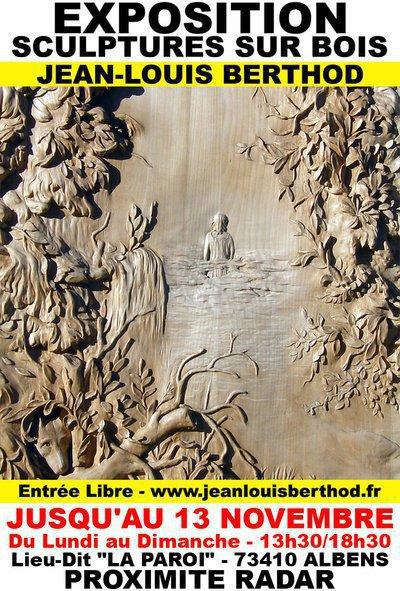 Exposition Bas-Reliefs & Sculptures sur Bois de JL BERTHOD 407030