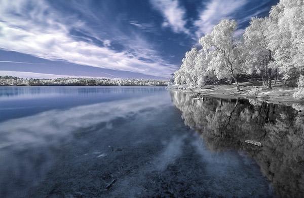 FOTO TË MUAJIT DHJETOR Snow-lake