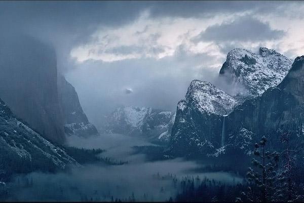 FOTO TË MUAJIT DHJETOR Yosemite-winter-storm