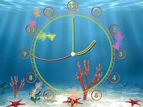 Satovi  AquariumClock