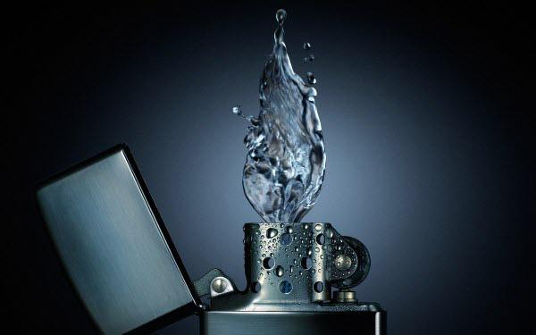 தண்ணீரை திறமையாக கையாண்டு எடுக்கப்பட்ட வியக்கத்தக்க காட்சிகள்  Lighter-water