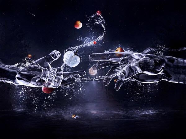 தண்ணீரை திறமையாக கையாண்டு எடுக்கப்பட்ட வியக்கத்தக்க காட்சிகள்  Unique