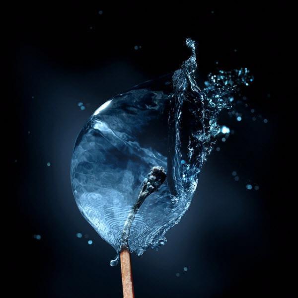 தண்ணீரை திறமையாக கையாண்டு எடுக்கப்பட்ட வியக்கத்தக்க காட்சிகள்  Water-for-fire