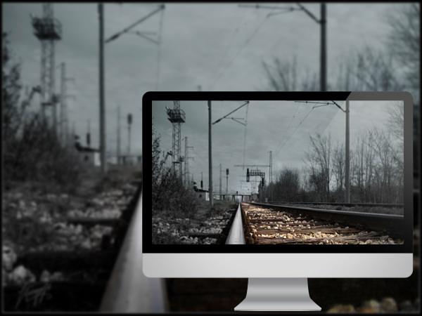 ரயில் தண்டவாளங்களின் அழகிய புகைபடங்கள்  Railway-to-nowhere