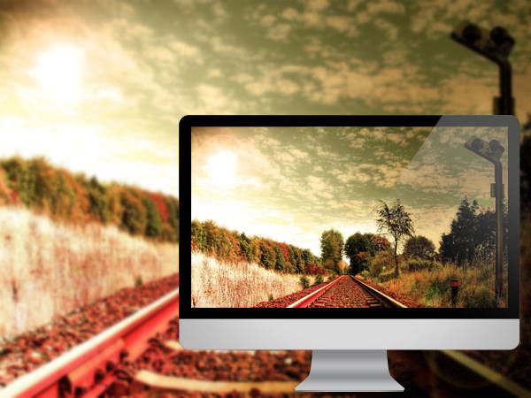 ரயில் தண்டவாளங்களின் அழகிய புகைபடங்கள்  Train-tracks