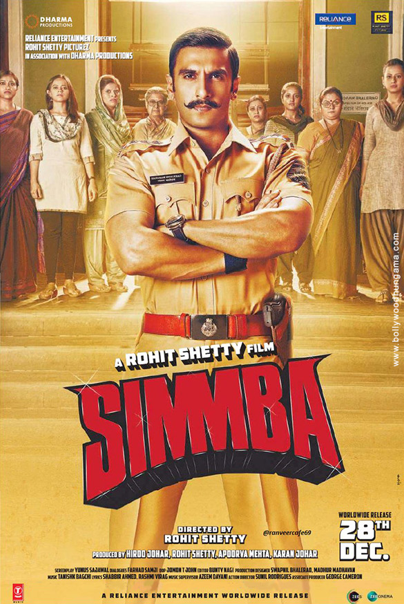 SIMMBA (2018) con RANVEER SINGH + Jukebox + Sub. Español + Online Simmba2-3
