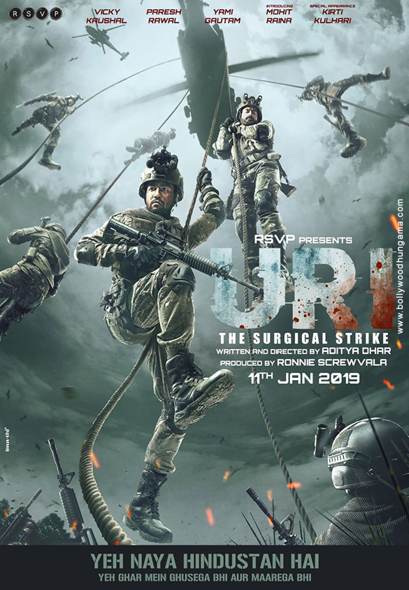 URI: The Surgical Strike (2019) con VICKY KAUSHAL + Jukebox + Sub. Español Uri-2