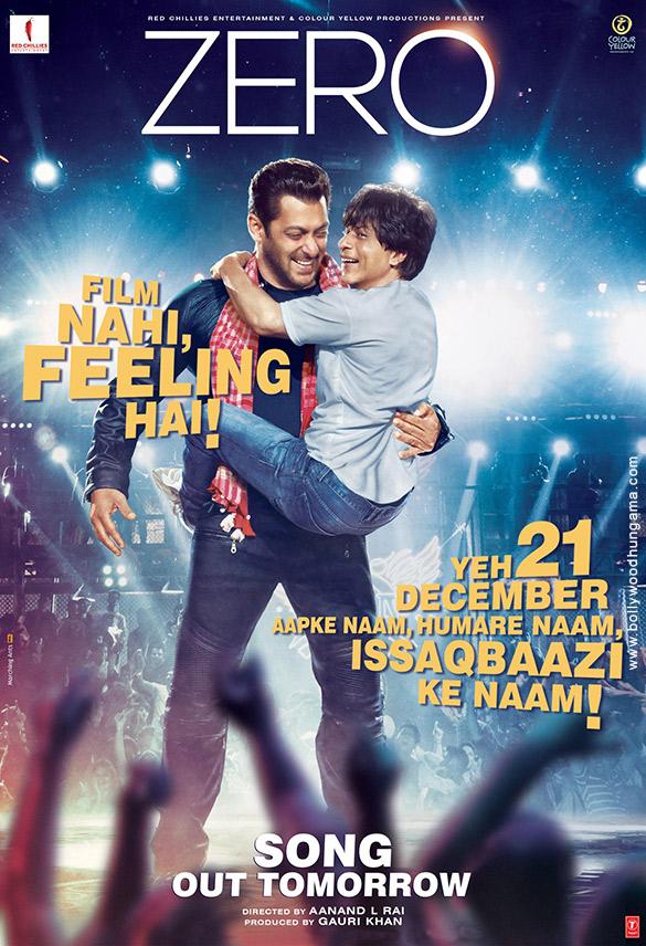 ZERO (2018) con Shah Rukh Khan + Jukebox + Sub. Español + Online Zero