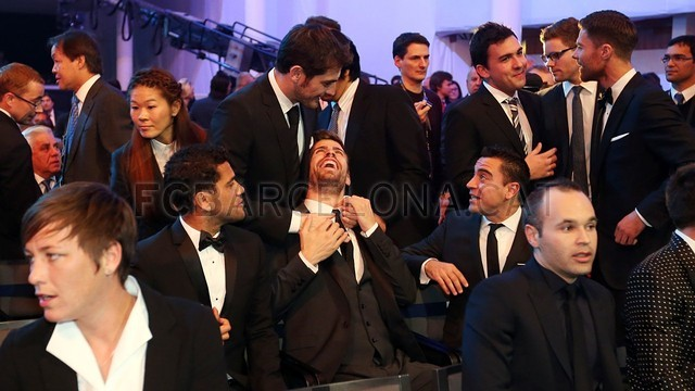 Lionel Messi, the man of the four Golden Balls 2013-01-07_GALA_BALON_ORO_06-Optimized.v1357650106