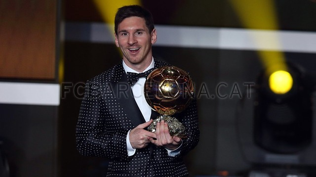 Lionel Messi, the man of the four Golden Balls 2013-01-07_GALA_BALON_ORO_23-Optimized.v1357650142