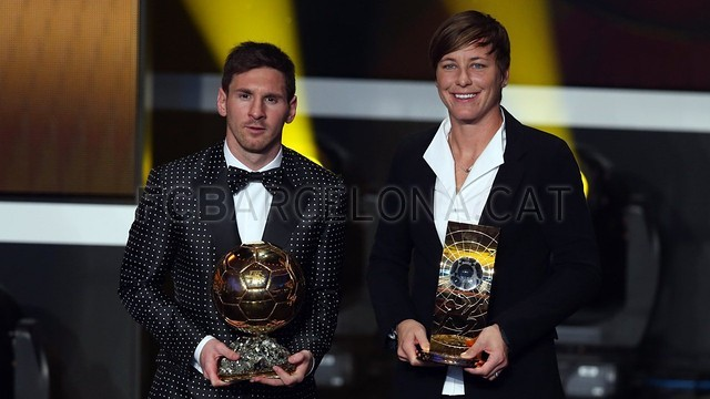 Lionel Messi, the man of the four Golden Balls 2013-01-07_GALA_BALON_ORO_25-Optimized.v1357650147