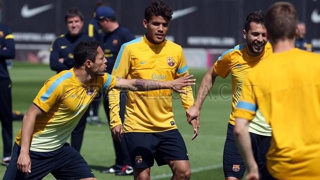بالصور تدريبات لاعبي برشلونة 28-05-2013 2013-05-28_ENTRENO_10-Optimized.v1369747941