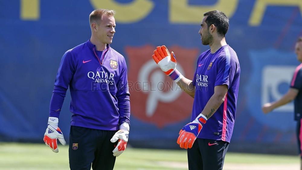 برشلونة يختتم تدريباته استعداداً لنهائي كأس الملك 2015-05-29_ENTRENO_34-Optimized.v1432897759