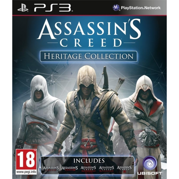 [PS3]Assassins Creed Heritage Collection [MULTI][Region Free][FW 4.4x] 14956-thickbox