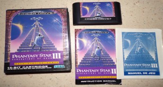 Phantasy star Megadrive  7942