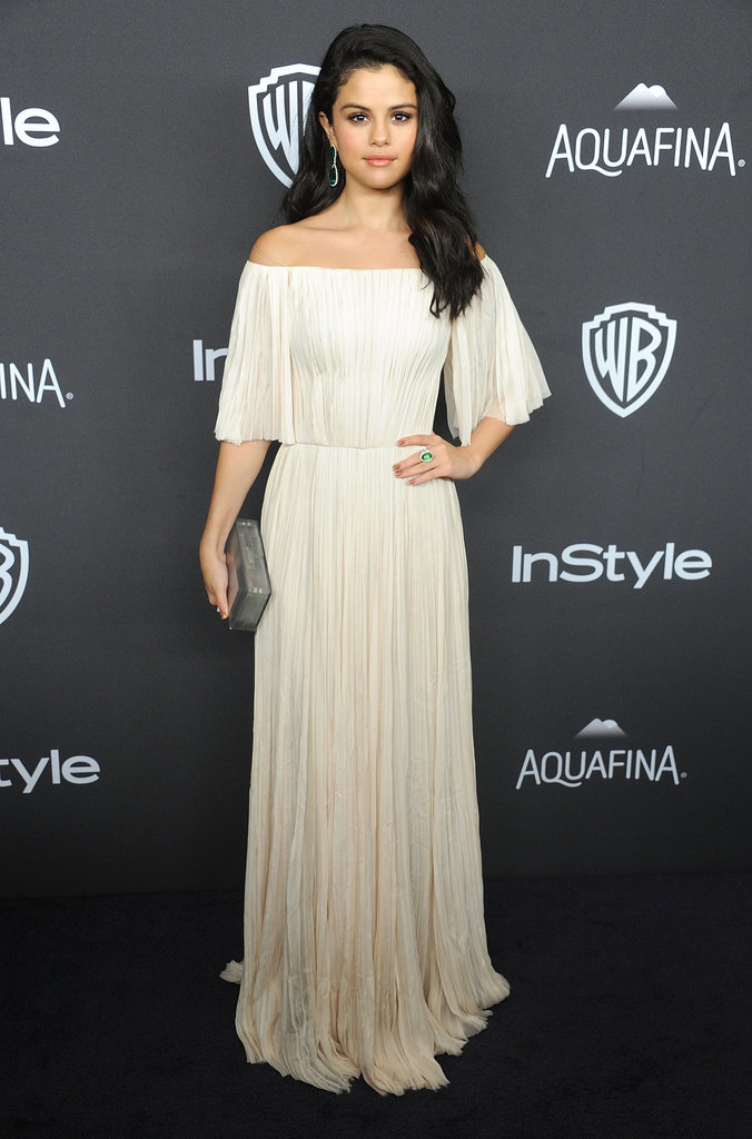 Įvertink suknelę - Page 31 Selena-Gomez-Brad-Pitt-Golden-Globes-Afterparty-2016