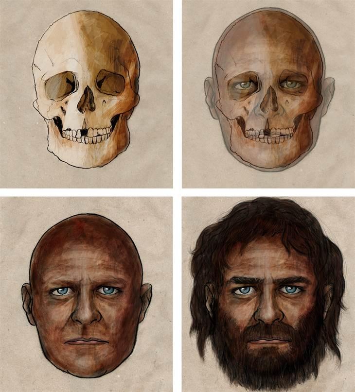 Dark skin, blue eyes: Genes paint a picture of 7,000-year-old European 2D11430827-140126-coslog-skull4.blocks_desktop_large