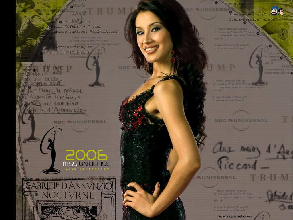 Miss Kazakhstan Universe - Dina Nuraliyeva (2006) Mis112m