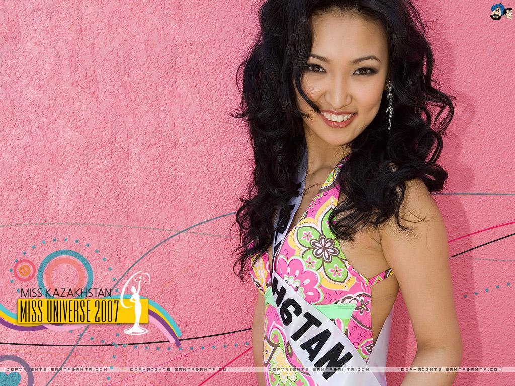 Miss Kazakhstan Universe - Gauhar Rakhmetalieva (2007) Mis56e