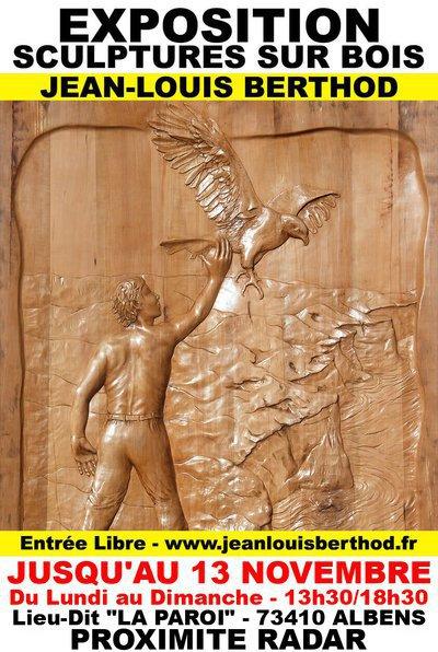 Exposition Bas-Reliefs & Sculptures sur Bois de JL BERTHOD 407031