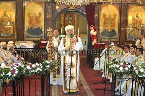البابا تواضروس فى التذكار الرابع والأربعون لرحيل البابا كيرلس السادس 503