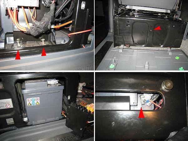 Radio CD sur batterie auxilliaire ( MP 2006 ) 105640