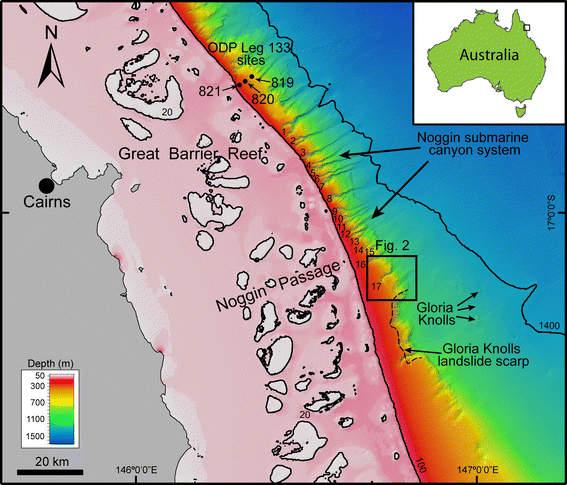 Losa del mar inestable cerca de Barrera de Coral  podría causar un gran tsunami  en el norte de Queensland Reef_1_t620