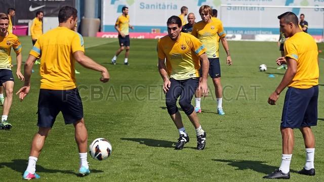 بالصور تدريبات لاعبي برشلونة 28-05-2013 2013-05-28_ENTRENO_07-Optimized.v1369747928