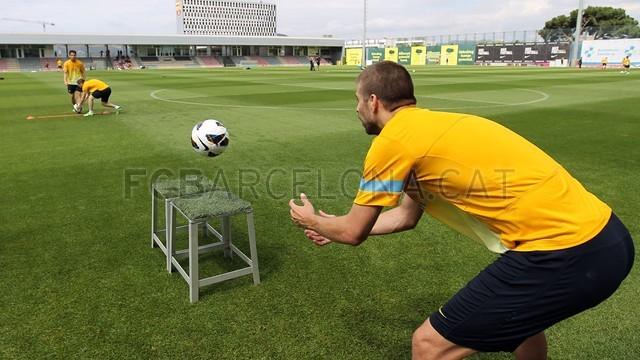 بالصور تدريبات لاعبي برشلونة 28-05-2013 2013-05-28_ENTRENO_40-Optimized.v1369748007
