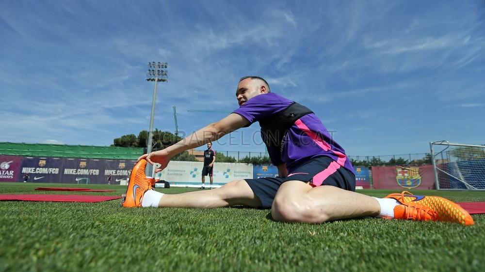 أجواء مرحة في تدريبات برشلونة غداة الفوز على البايرن Pic_2015-05-07_ENTRENO_31-Optimized.v1430996082