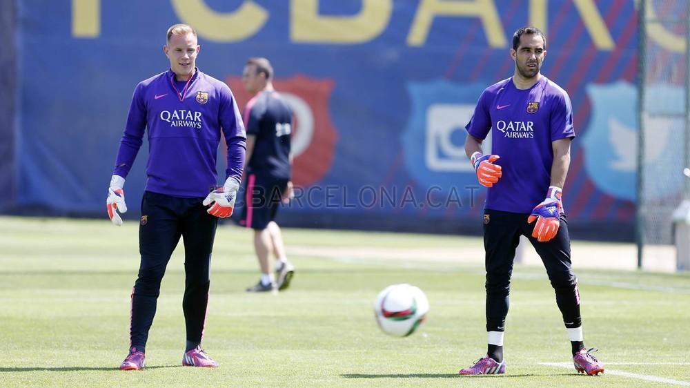 برشلونة يختتم تدريباته استعداداً لنهائي كأس الملك 2015-05-29_ENTRENO_35-Optimized.v1432897762