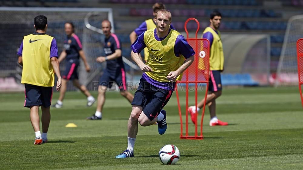 برشلونة يختتم تدريباته استعداداً لنهائي كأس الملك 2015-05-29_ENTRENO_36-Optimized.v1432897766