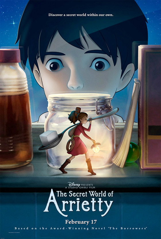Arrietty, le Petit Monde des Chapardeurs [Ghibli - 2011] - Page 4 Arrietty-newUSposterbig560full1