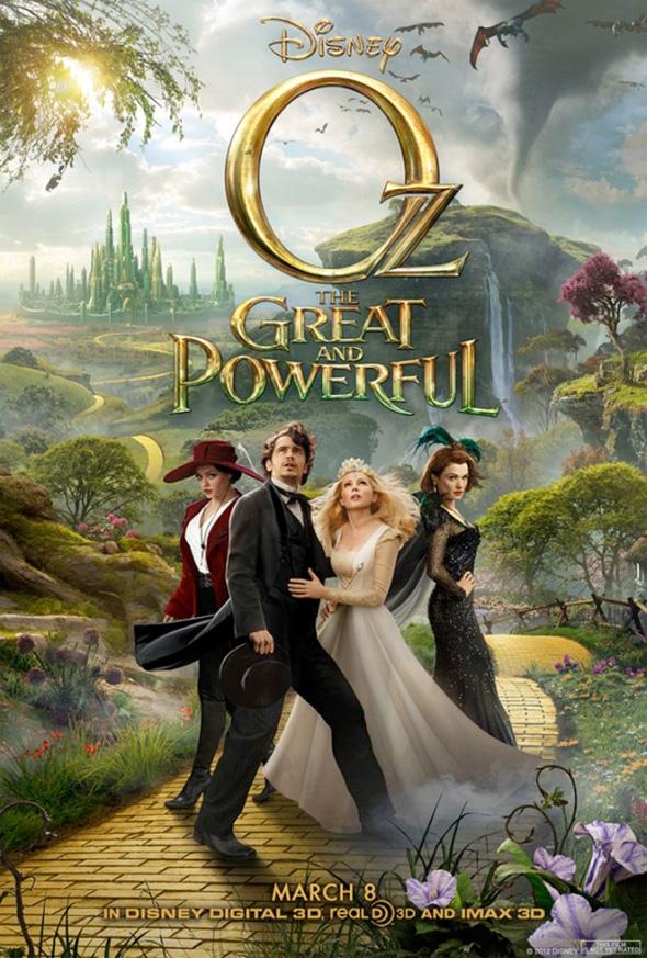 Le Monde Fantastique d'Oz [Disney - 2013] - Page 4 Ozgreatandpowerful-thirdposter-full
