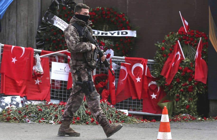 Les célébrations de Nouvel An 2017 endeuillées par un attentat en Turquie  Image