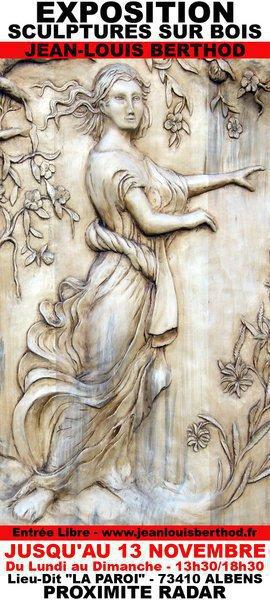 Exposition Bas-Reliefs & Sculptures sur Bois de JL BERTHOD 407032