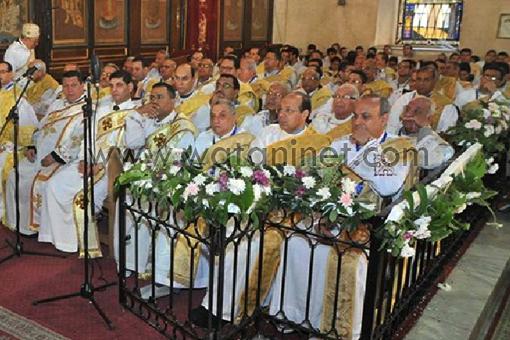 البابا تواضروس فى التذكار الرابع والأربعون لرحيل البابا كيرلس السادس 5210