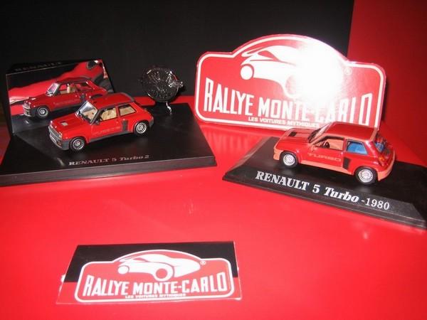 Miniatures 1/43e Des R5 Turbo biensûr !!!!!! COLLR5V1