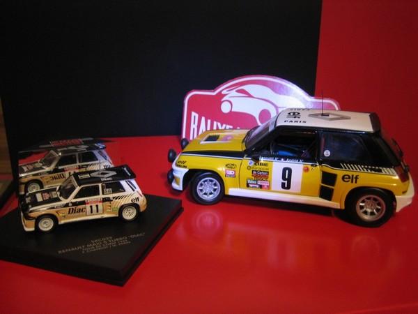 Miniatures 1/43e Des R5 Turbo biensûr !!!!!! COLLR5V5