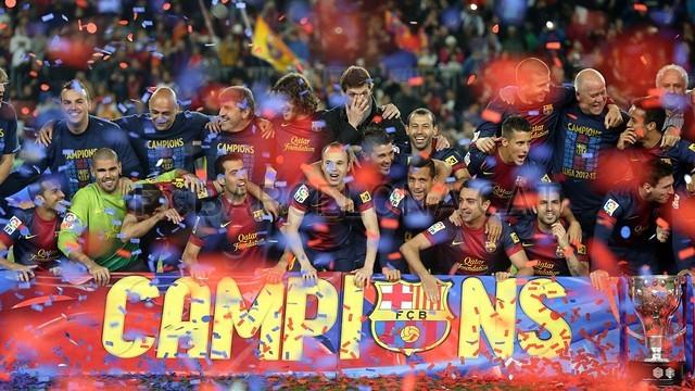 صور احتفالات برشلونة بلقب الليغا الاسبانية في ملعب الكامب نو  19-05-2013 2013-05-19_BARCELONA-VALLADOLID_29-Optimized.v1369041573