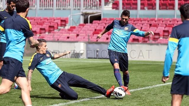 بالصور تدريبات نادي برشلونة اليوم 25-05-2013 2013-05-25_ENTRENO_10-Optimized.v1369490684