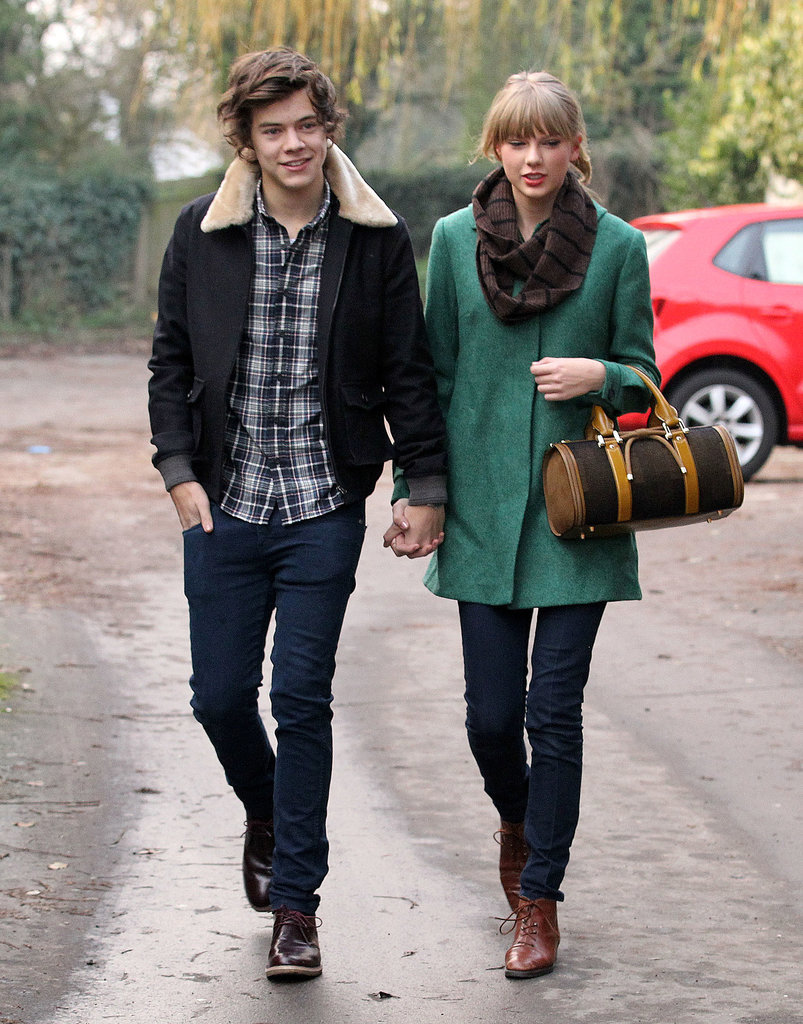 ¿Cuánto mide Harry Styles? - Altura - Real height Taylor-Swift-Harry-Styles-Couple-Pictures