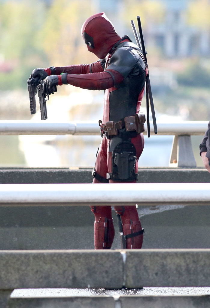 Deadpool test footage CGI Might-how-you-shoot-guns